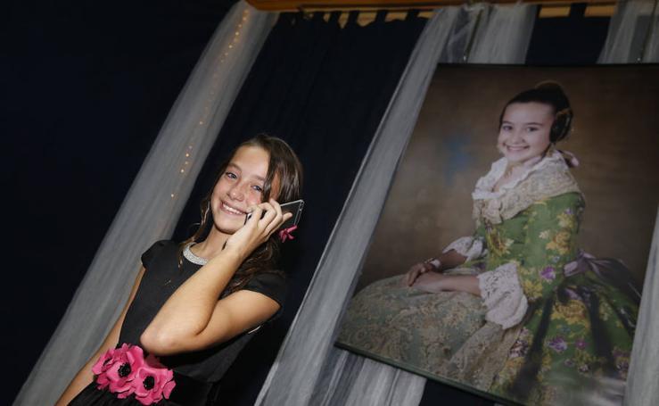 Fotos de la fallera mayor infantil de Valencia 2018, Daniela Gómez de los Ángeles