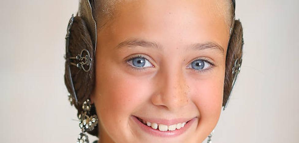 Daniela Gómez De los Ángeles, fallera mayor infantil de Valencia 2018