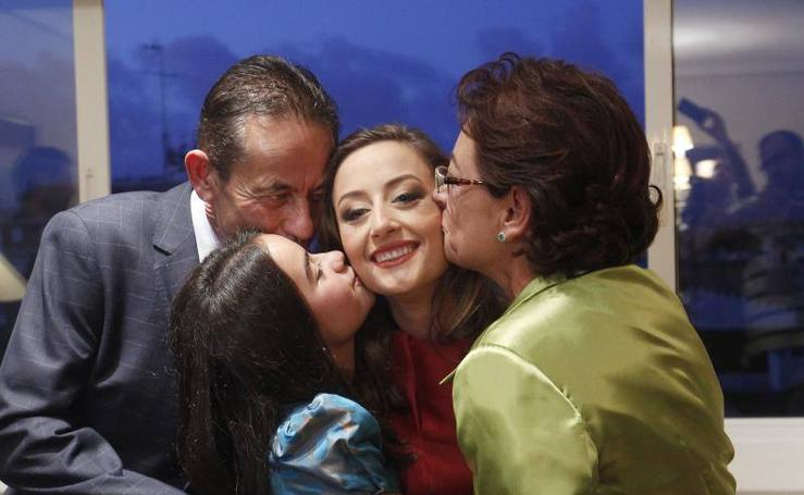 Fotos de la elección de las falleras mayores de Valencia para las Fallas 2018