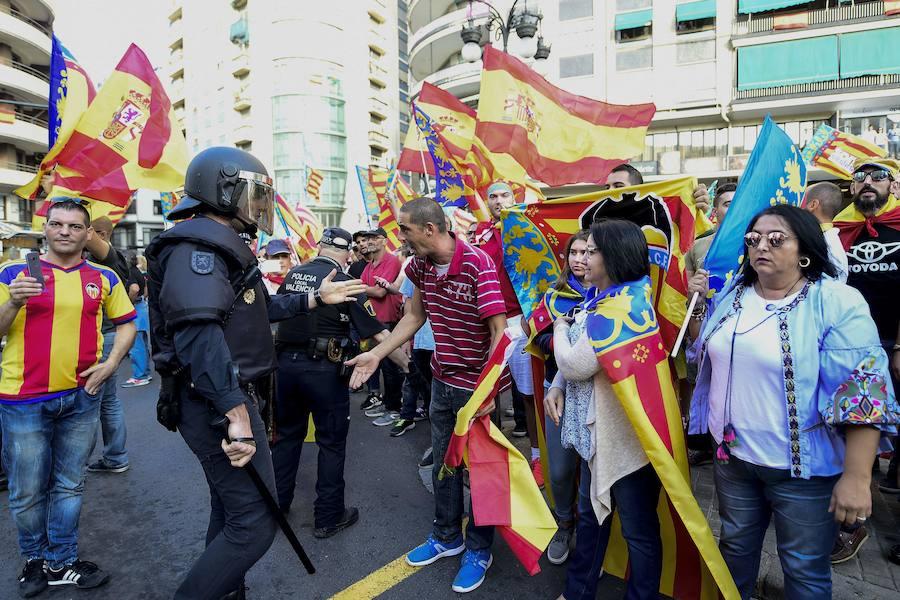El PSPV pide la comparecencia de Moragues en Les Corts para que explique los incidentes en la manifestación del 9 d'Octubre