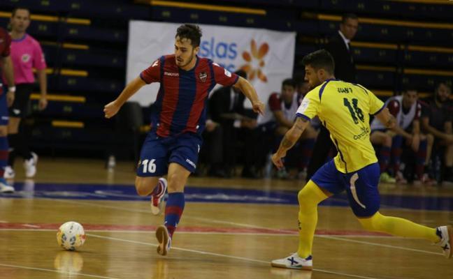 El Levante FS, eliminado de la Copa por el Rivas
