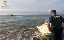 Llegan dos pateras a Cabo de Huertas y Xàbia