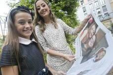 Las primeras horas de reinado de las falleras mayores de Valencia 2018, Rocío Gil y Daniela Gómez