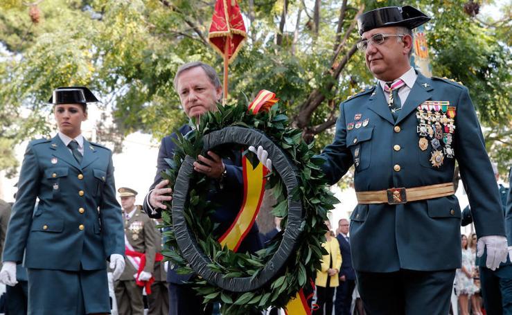 Fotos de la celebración de la festividad de la Virgen del Pilar en Valencia