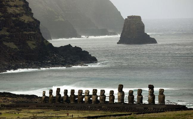 Los rapanui no tuvieron contacto con los sudamericanos antes de la llegada de los europeos