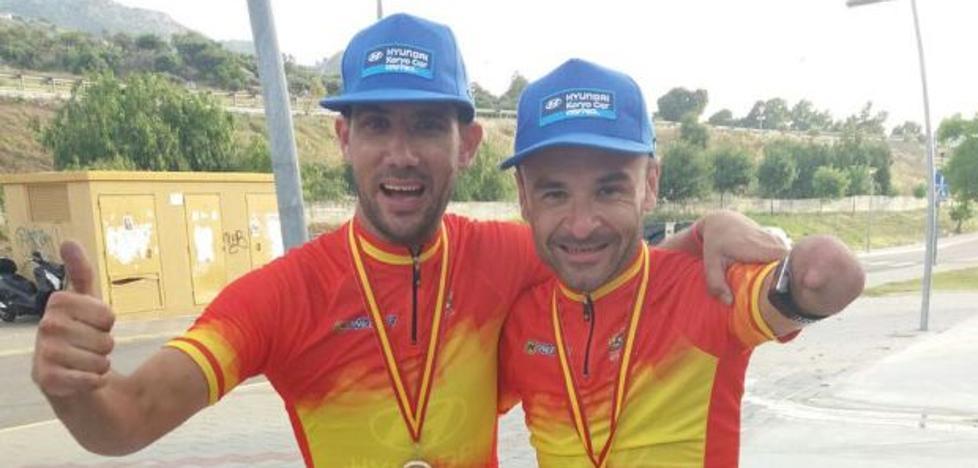 Ricardo Ten: «La ambición perdida con la natación la tengo ahora en ciclismo»