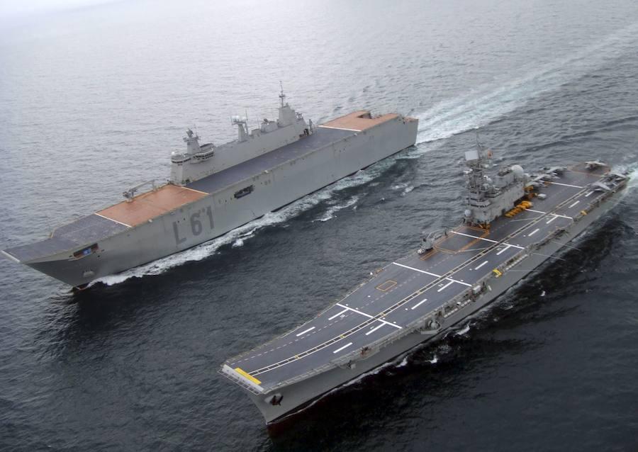 Fotos del portaviones Juan Carlos I