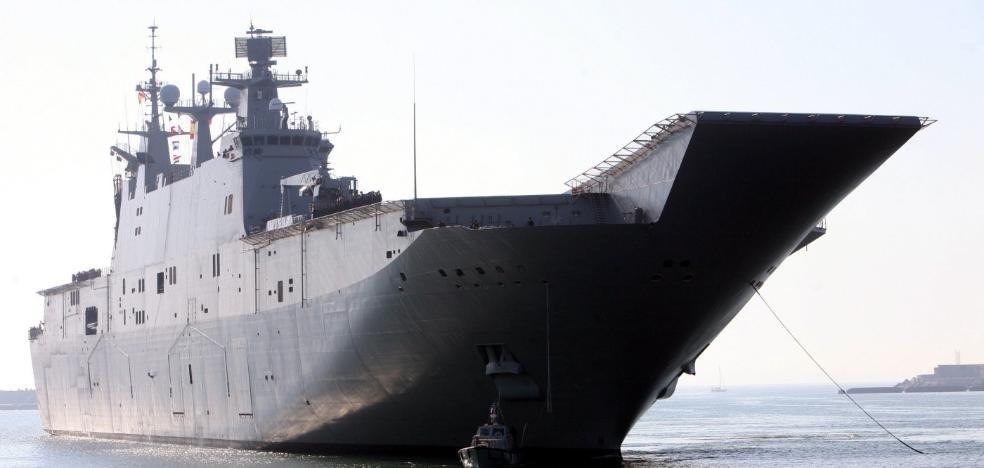 El mayor buque llega a Valencia