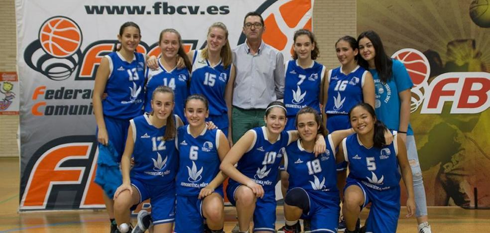 El cadete femenino del CB Almussafes, finalista de la Liga Valenciana