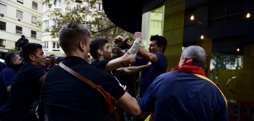Tres detenidos más por las agresiones de la manifestación del 9 d'Octubre