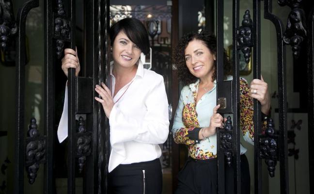 En familia con Begoña y Paloma Marfil