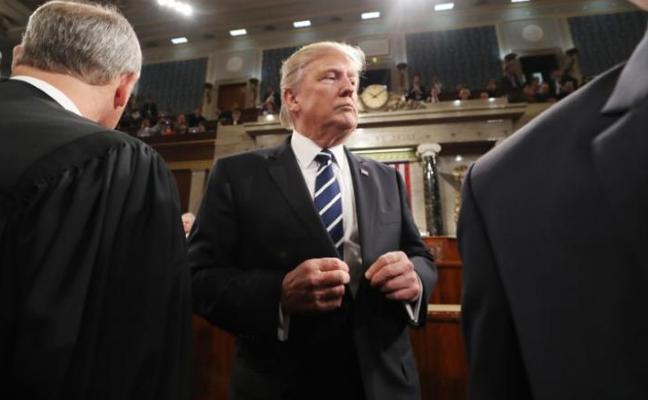 Trump pedirá al Congreso que imponga «líneas rojas» al pacto nuclear con Irán