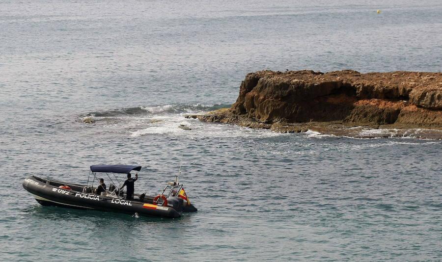Localizados nueve inmigrantes tras llegar en una patera a Guardamar