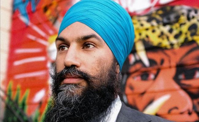 Un león contra Trudeau