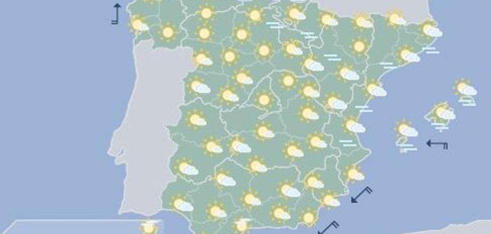 Previsión del tiempo | El domingo, lluvias en el litoral