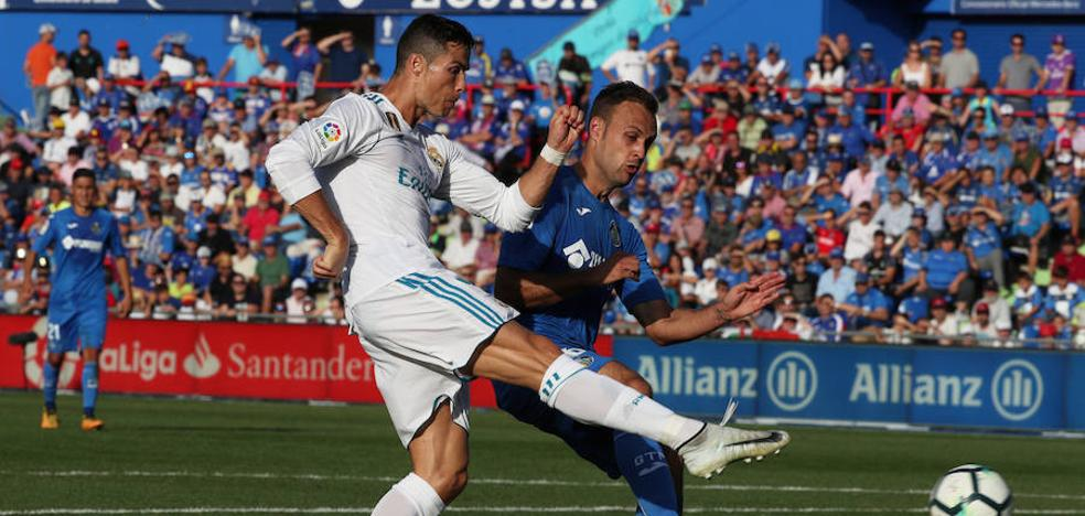 Cristiano salva la fiesta de Zidane
