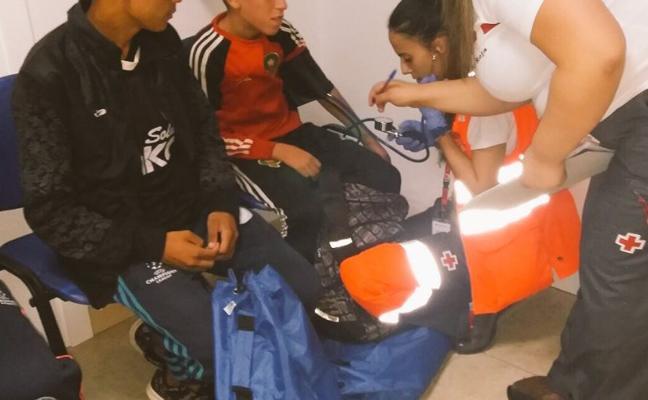 Varios niños llegan en patera en dos pateras a El Campello