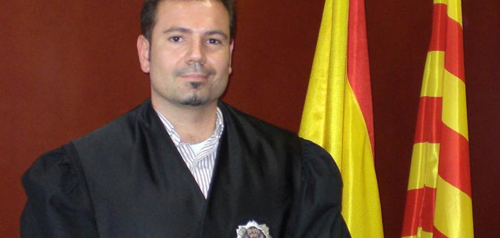 José María Magán, magistrado en Alicante: «La denuncia de la Generalitat me recordó mi etapa en Cataluña»