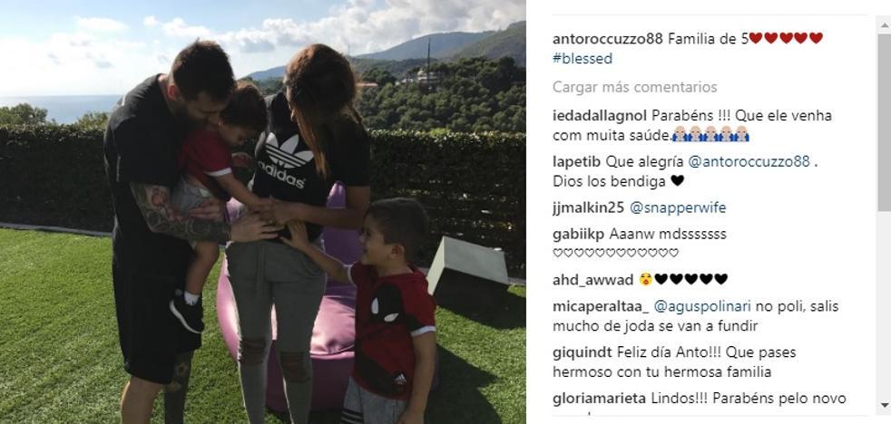 Antonela Roccuzzo confirma su embarazo
