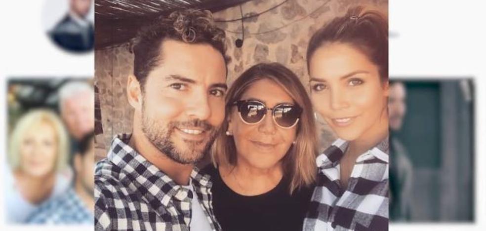 David Bisbal se despide de su familia antes de iniciar su gira en Latinoamérica