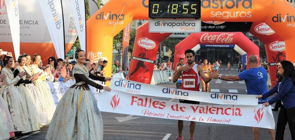 Sergio López y Fátima Ayachi ganan la Volta a Peu de les Falles 2017