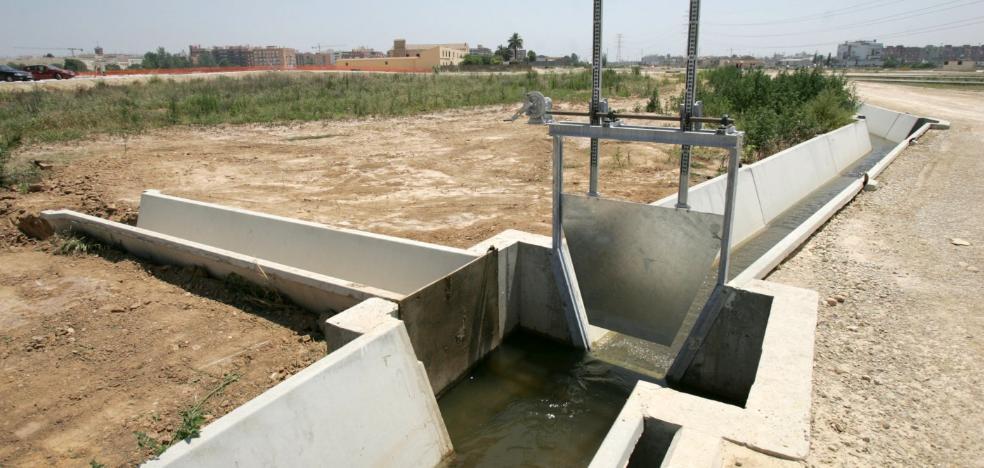 Ceder el agua que no se utiliza