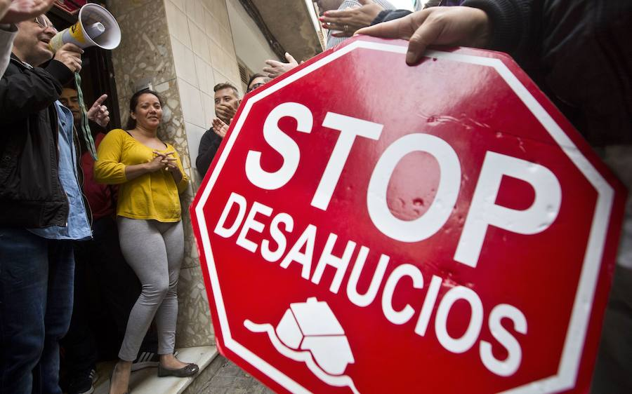 El número de desahucios baja un 21% en el segundo trimestre en la Comunitat