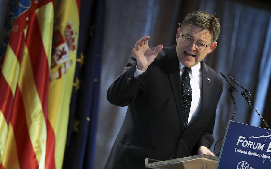 Ximo Puig sobre la carta de Puigdemont: «Todo lo que sea no pegar portazos es bueno»