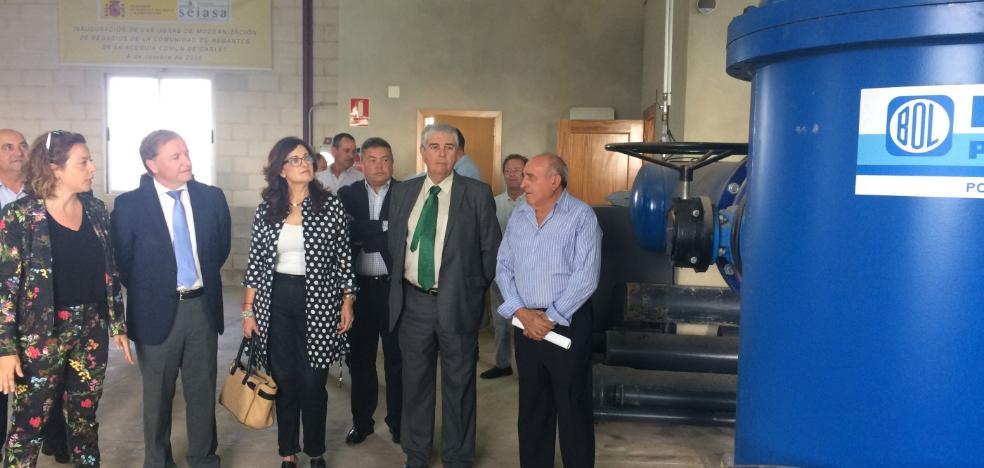 El Gobierno invierte medio millón en la mejora del sistema de regadío en Carlet