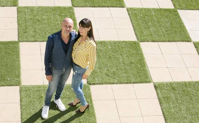 En familia con Stefano Garzelli y María Benimeli