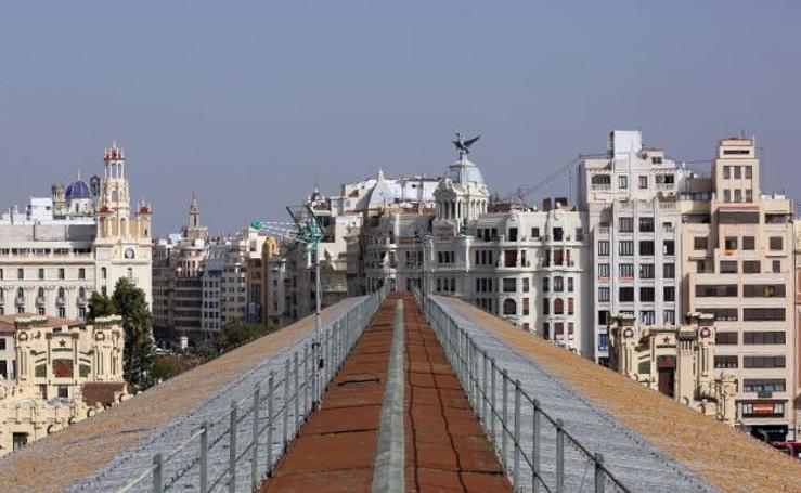 Fotos de Valencia vista desde el tejado de la estación del Norte