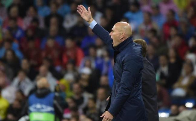 Zidane: «Hicimos bien las cosas, es un empate normal»