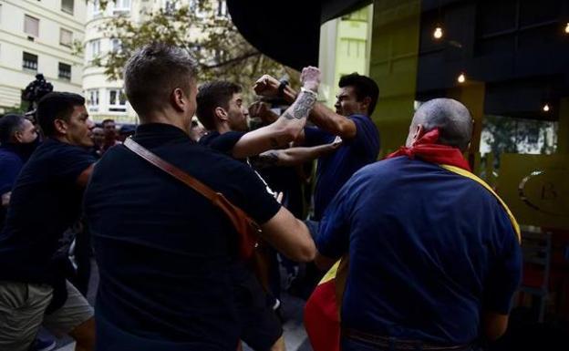 Ocho detenidos más por las agresiones de la manifestación del 9 d'Octubre
