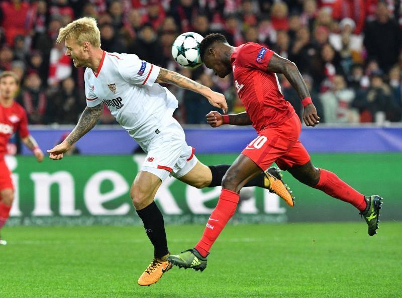 Las mejores imágenes del Spartak-Sevilla