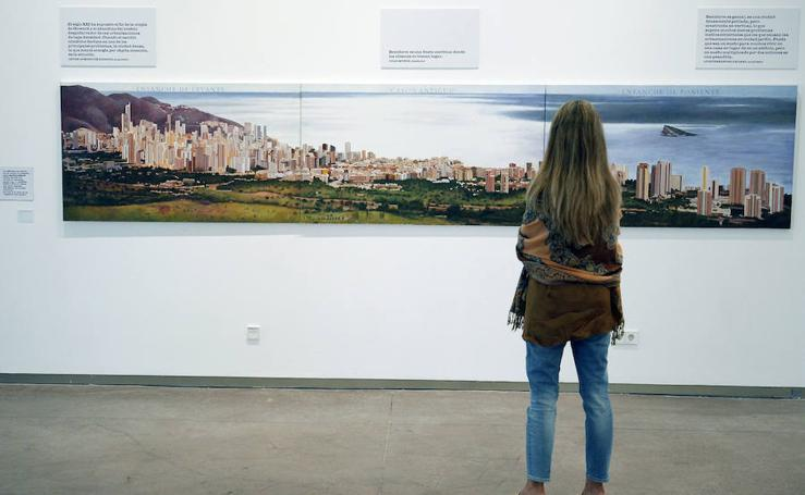Fotos de la exposición 'Gran Benidorm' en La Rambleta