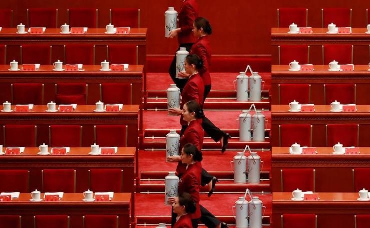 Fotos del sorprendente congreso del Partido Comunista Chino