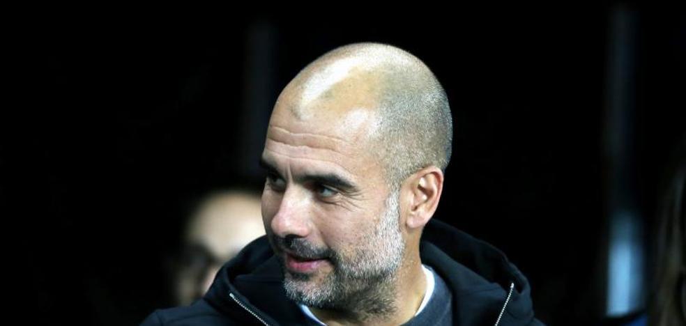 Guardiola dedica la victoria del City a los líderes independentistas encarcelados