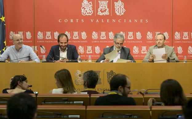 El TSJCV admite a trámite el recurso de dos exdiputados de Ciudadanos para interpelar al Consell