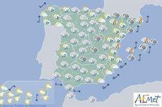 Valencia y Castellón, en alerta amarilla por fuertes lluvias