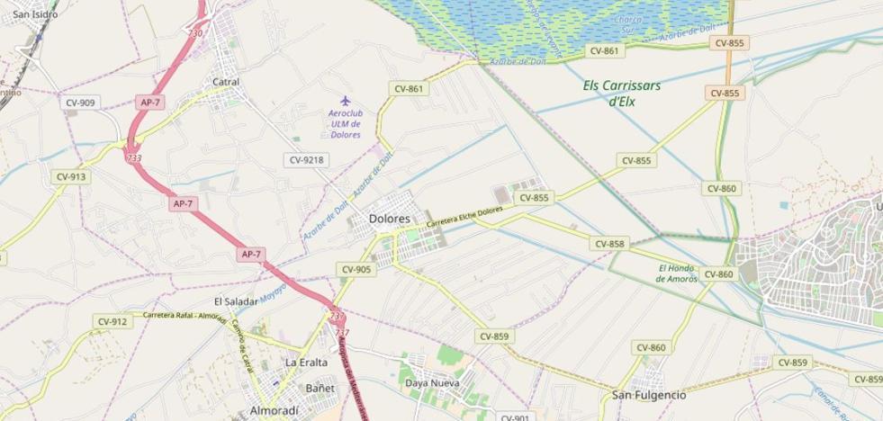 Muere una ciclista de 74 años tras un accidente con un vehículo en Alicante