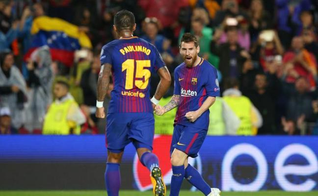 Los 100 de Messi y los 111 de Paulinho