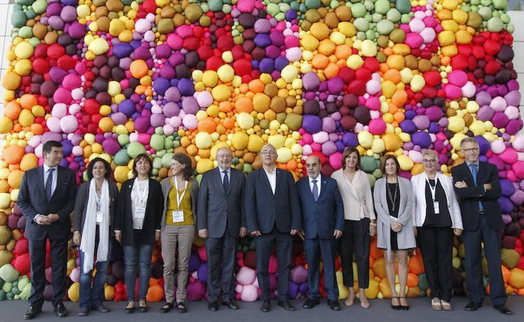 Fotos de la cumbre internacional de alcaldes en Valencia