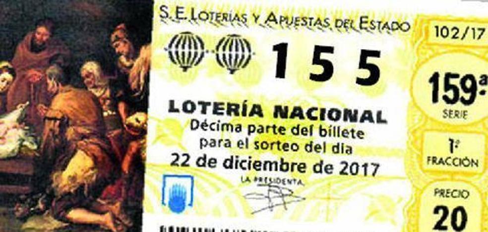 El 155 se agota... en las administraciones de lotería