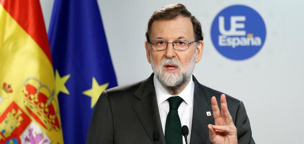 Rajoy: «Hemos llegado a una situación límite en Cataluña»
