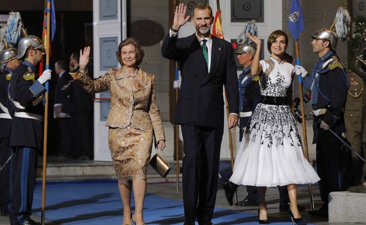 Doña Sofía reaparece en los Premios Princesa de Asturias