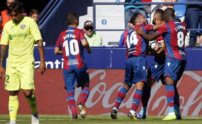 Levante UD - Getafe: El conjunto granota sufre para sumar un punto (1-1)
