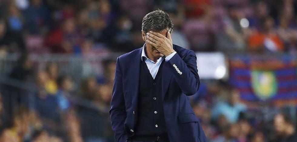 Míchel: «Un equipo frustrado no juega como lo hemos hecho hoy»