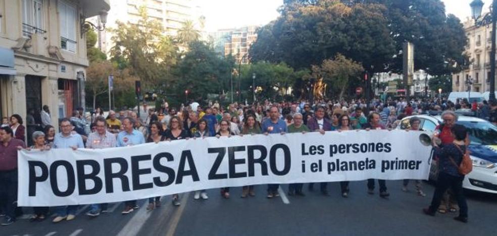 Pobresa Zero reclama medidas para acabar con la «desigualdad obscena» en Valencia
