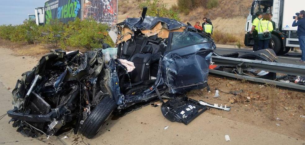 Siete fallecidos en seis accidentes de tráfico durante el fin de semana
