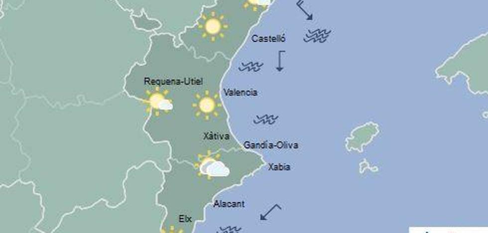 El tiempo en Valencia | La semana empieza con bajada de temperaturas
